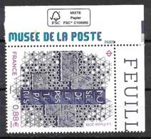 FRANCE Musée De La Poste - Salon D'automne Coin De Feuille Habillée  (2019) Neuf** - France