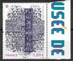FRANCE Musée De La Poste - Salon D'automne Bord De Feuille Habillée  (2019) Neuf** - France