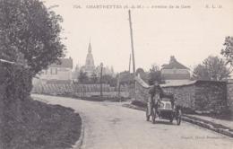 77. Chartrettes . Automobile. Coupure Coté Gauche Sinon Parfait état . Voyagée - France