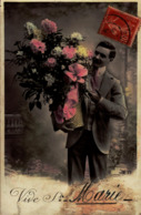 CPA FANTAISIE  - BONNE FETE  STE MARIE - Holidays & Celebrations