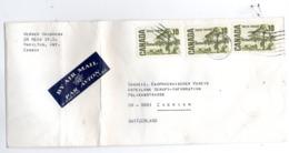 B - Lettera Di Posta Aerea Canada - Post