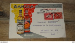 Carte Publicitaire Apéritifs GANCIA …... … PHI.......2933 - Publicité