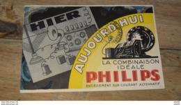 Carte Publicitaire Des Radios PHILIPS …... … PHI.......2932 - Publicité