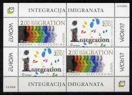Bosnien-Herzegowina (kroatisch) / Bosnia-Herzegowina (croatian Post) / Bosnie-Herzégovine Mostar Block 2006 EUROPA ** - 2006