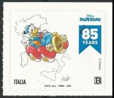 Italia Italy 2019 - 85° Anniversario Di Paperino / Donald Duck - Single Stamp From Sheet (MNH) - Disney