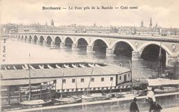 BORDEAUX - Le Pont Pris De La Bastide - Côté Ouest - Très Bon état - Bordeaux