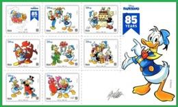 Italia Italy 2019 - 85° Anniversario Di Paperino / Donald Duck - Sheetlet (MNH) - Disney