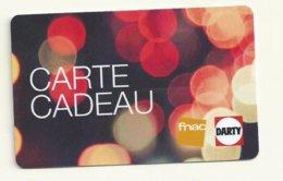 CARTE CADEAU VIDE FNAC/DARTY - Gift Cards