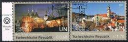 2016 - O.N.U. / UNITED NATIONS - VIENNA / WIEN - REP. CECA - PATRIMONIO UNESCO / UNESCO WORLD HERITAGE. USATO - Vienna – International Centre