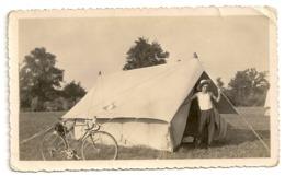 PHOTO - Camping, Tente, Vélo. - Camping