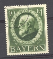 0ob 458  - Allemagne  -  Bavière  :  Mi  108 II  (o) - Bavière