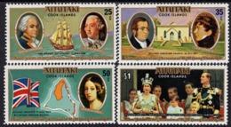 Aitutaki - 1977 - Reign Of Queen Elizabeth II, 25th Anniversary Silver Jubilee - Mint Stamp Set - Aitutaki