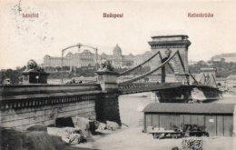 BUDAPESTA-LANCHID-1915 - Ungheria