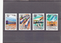 Senegal Nº 993 Al 996 - Senegal (1960-...)