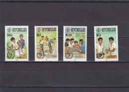 Seychelles Nº 587 Al 590 - Seychelles (1976-...)