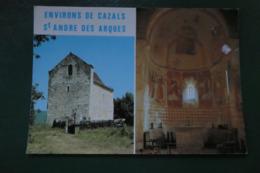 H ) CAZALS  SAINT ANDRE DES ARQUES - Cazals