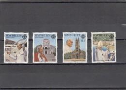 Seychelles Nº 614 Al 617 - Seychelles (1976-...)