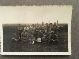 MILITARIA PETITES PHOTOGRAPHIE MILITAIRES DES TRANSMISSIONS WW2 - Guerra, Militares