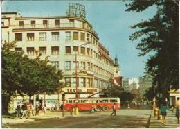 CPM/CPSM - BRATISLAVA - Hôtel Palace (bus) - Slovacchia
