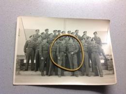 Photo Militaire Soldats Groupe Militaria A Identifier - Militaria