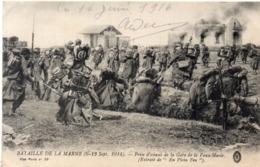 Bataille De La Marne (6, 13 Sep. 1914) Prise D' Assaut De La Gare De LA VAUX MARIE (117679) - War 1914-18