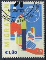 2018 - O.N.U. / UNITED NATIONS - VIENNA / WIEN - MIGRAZIONE / MIGRATION. USATO - Vienna – International Centre