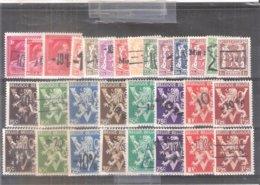 724a-vv Série Complète Pour Cartes Postales - XX/MNH CV:55.00 € - 1946 -10%