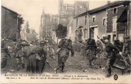 Bataille De La Marne (6, 13 Sep. 1914) Charge A La Baïonnette Dans Les Rue De REMBERCOURT (Meuse) (117680) - War 1914-18