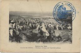 MAROC - CARTE COMBATS DE KSIBA-COLONNE DU TADLA -CACHET BLEU CAMPAGNE DU MAROC -COLONNE DES TADLA 1914 - Morocco