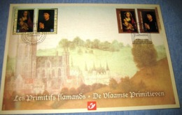 Belg.2010: Herdenkingskaart- Carte-souvenir Frankrijk 4085/86(o) HK (cob )cote 10€ (BL185)° - Souvenir Cards