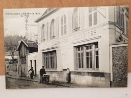 CPA Dpt 78 - Montfort L'Amaury (Yvelines)  - La Poste Telegraphes Telephones - 1918 (livraison Gratuit Pour La France) - Montfort L'Amaury