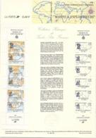 FRANCE - CARNET MARINS ET EXPLORATEURS - 28.2.1988 / TBS - Timbres