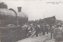 KONTICH / TREINRAMP 1908 - Kontich