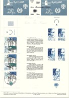 FRANCE - CARNET SERIE PERSONNAGES CELEBRES 1986  / TBS - Timbres