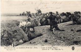 Bataille De La Marne (6, 13 Sep. 1914) Combat De OSCHES (Muse)  (117685) - War 1914-18
