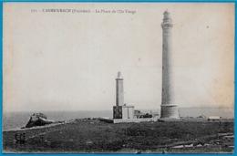 CPA 29 L'ABERWRACH (Plouguerneau) Finistère - Le PHARE De L'ILE VIERGE * Lighthouse Leuchturm - Plouguerneau