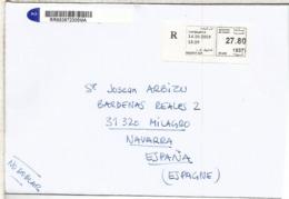 MARRUECOS CASABLANCA CC  CERTIFICADA ATM - Marruecos (1956-...)