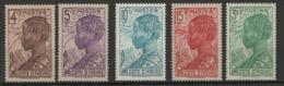 Côte D'Ivoire YT 111-114 + 151 XX / MNH - Unused Stamps