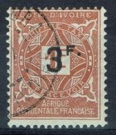 Ivory Coast, Postage Due, 3F/1f., 1927, VFU - Ivory Coast (1892-1944)