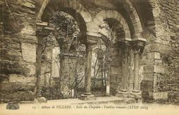 CPA - Belgique - Ruines De L'Abbaye De Villers - Salle Du Châpitre - Villers-la-Ville