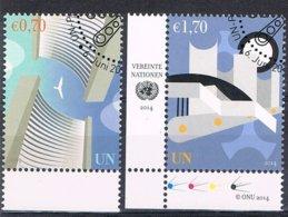 2014 - O.N.U. / UNITED NATIONS - VIENNA / WIEN - POSTA ORDINARIA / DEFINITIVE. USATO - Vienna – International Centre