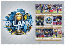 Ukraine   2019 Cricket World Cup   Sri Lanka   Accept PayPal   Sheet. Personalized. MNH - Cricket