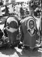 Photo Niger Pagnes Très Pittoresques Vivant Univers Années 1980 - Afrique