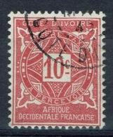 Ivory Coast, Postage Due, 10c., 1915, VFU - Côte-d'Ivoire (1892-1944)