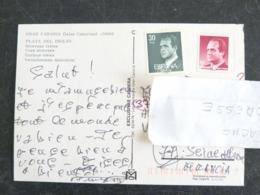 LETTRE ESPAGNE ESPANA SPAIN AVEC YT 2234 ET 2460 JUAN CARLOS 1er - GRAN CANARIA PLAYA DEL INGLES - 1991-00 Lettres