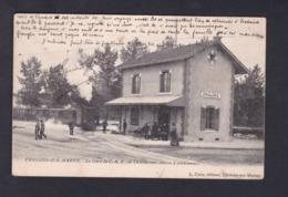 Vente Immediate Chalons Sur Marne Gare Du C.B.R Chemin De Fer De Banlieue De Reims ( De Chalons à Ambonnay Train ) - Châlons-sur-Marne