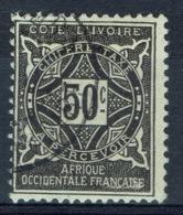 Ivory Coast, Postage Due, 50c., 1915, VFU - Usati