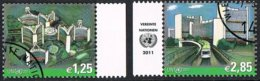 2011 - O.N.U. / UNITED NATIONS - VIENNA / WIEN - POSTA ORDINARIA / DEFINITIVE. USATO - Vienna – International Centre