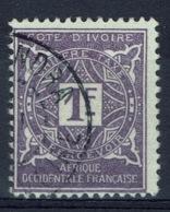 Ivory Coast, Postage Due, 1f., 1915, VFU - Usati