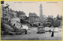 CPA 35 DINARD - Le Palais De Cristal ** Phare Lighthouse Leuchturm - Dinard